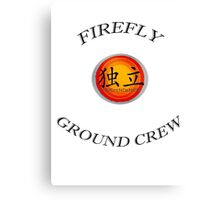Firefly Ground Crew Canvas Print