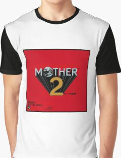 Mother 2 aka Earthbound Japanese Cover Art Graphic T-Shirt