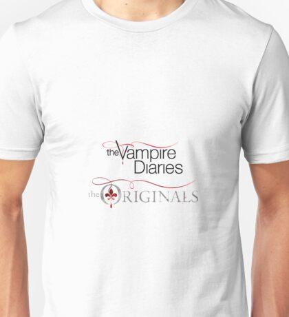 The vampire diaries and the originals  Unisex T-Shirt