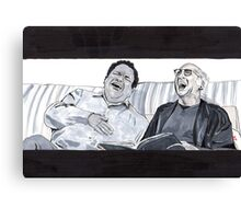 Curb Your Enthusiasm, Larry David and Jeff Garlin Canvas Print