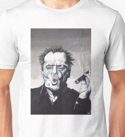Jack Nicholson Smoke Ring Unisex T-Shirt