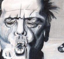 Jack Nicholson Smoke Ring Sticker