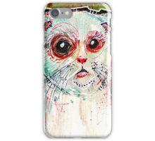 Infected Sugar Cat iPhone Case/Skin