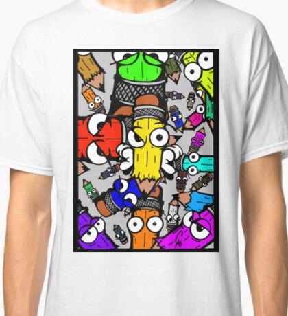 Sketch Colour Flex  Classic T-Shirt