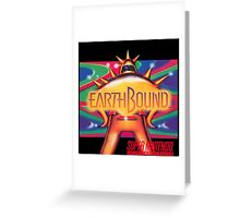 Earthbound aka Mother 2 North American Cover Art Greeting Card