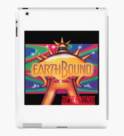 Earthbound aka Mother 2 North American Cover Art iPad Case/Skin