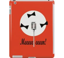 Two and a half men-meeeeeeen! iPad Case/Skin