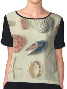 From the Sea Chiffon Top