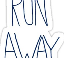 Let's Run Away: Ocean Sticker