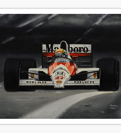 Ayrton Senna Sticker