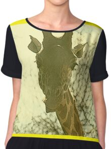 What you lookin' at? Chiffon Top