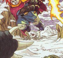 Chrono Trigger Cover Art Sticker