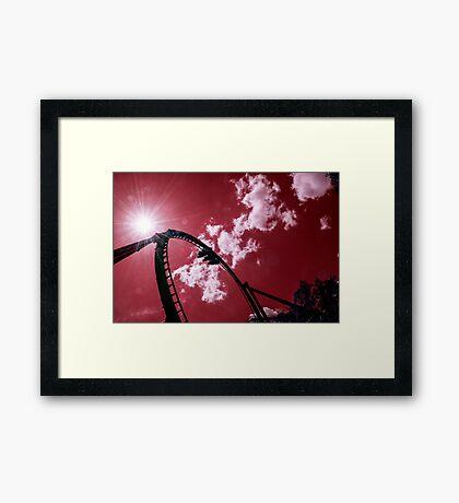 Busch Coaster  Framed Print