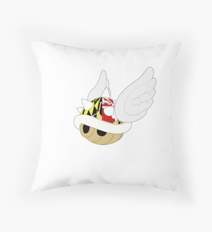 Maryland Shell Mario kart Throw Pillow