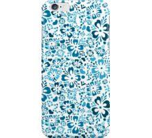 Norwegian Flowers (blue) iPhone Case/Skin