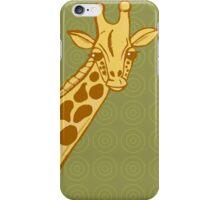 hand drawn giraffe iPhone Case/Skin
