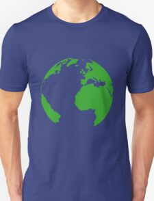 Planet earth map T-Shirt