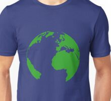 Planet earth map Unisex T-Shirt