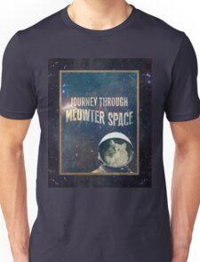 Journey Through Meowter Space Unisex T-Shirt