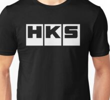 HKS Car Tuning White Unisex T-Shirt