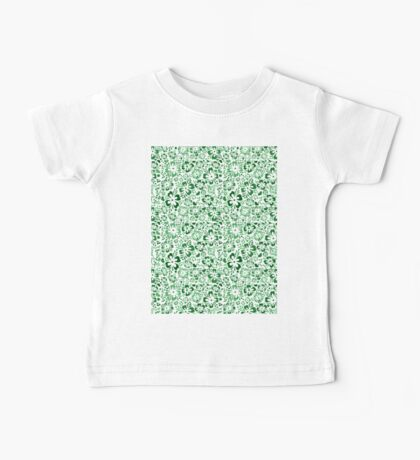 Norwegian Flowers (green) Baby Tee