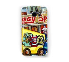 DISCOVER VERDUN BIGGY'S SPORTS STORE WELLINGTON STREET Samsung Galaxy Case/Skin