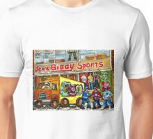 DISCOVER VERDUN BIGGY'S SPORTS STORE WELLINGTON STREET Unisex T-Shirt