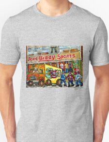 DISCOVER VERDUN BIGGY'S SPORTS STORE WELLINGTON STREET Unisex T-Shirt
