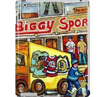 DISCOVER VERDUN BIGGY'S SPORTS STORE WELLINGTON STREET iPad Case/Skin