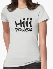 Kendrick lamar hii power Womens Fitted T-Shirt