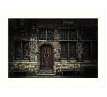 The Door... Art Print