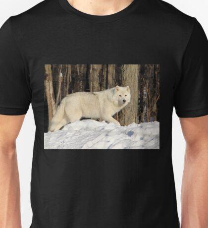 Beautiful Arctic Wolf. Unisex T-Shirt