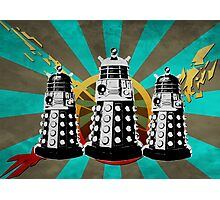 Doctor Who - Retro Daleks Photographic Print