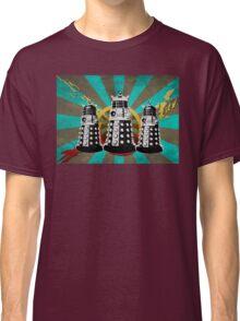 Doctor Who - Retro Daleks Classic T-Shirt