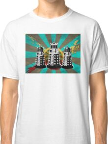 Doctor Who - Retro Daleks Classic T-Shirt