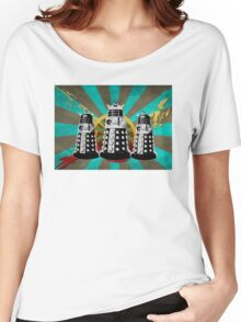 Doctor Who - Retro Daleks Women's Relaxed Fit T-Shirt