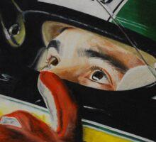 Ayrton Senna Sticker