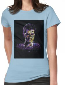 Companion Portrait - 10 Womens Fitted T-Shirt