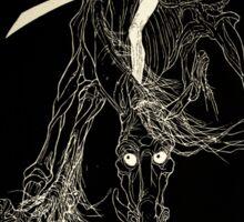 Wallace Smith - Black Horse - Fantazius Mallare Sticker