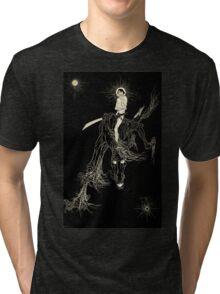 Wallace Smith - Black Horse - Fantazius Mallare Tri-blend T-Shirt
