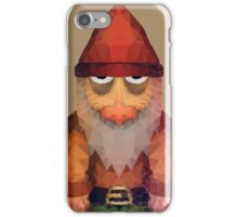 Angry Little Polygon Dwarf iPhone Case/Skin