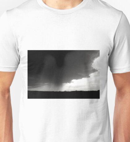 Storm Cloud - Black & White Unisex T-Shirt