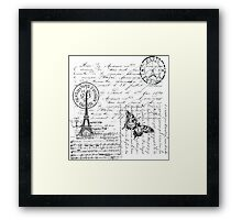 French Trip Framed Print