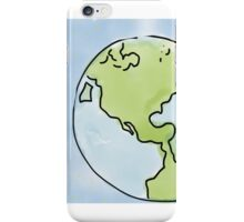The world according to me iPhone Case/Skin