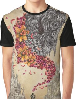 Medieval Armour Horse Design Graphic T-Shirt