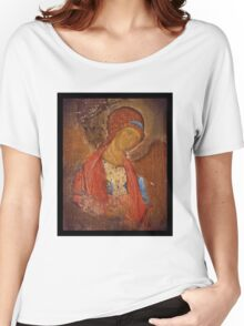 Saint Michael Icon Women's Relaxed Fit T-Shirt
