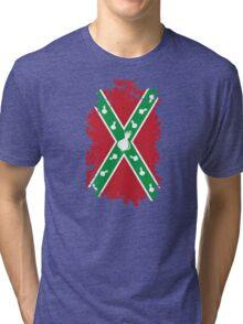 Confederate Onion Flag Tri-blend T-Shirt