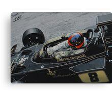 Emerson Fittipaldi, Lotus 72D Canvas Print
