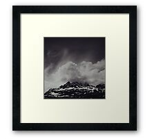 Mountainscape Framed Print