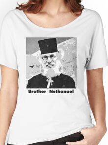Brother Nathanael with Title Women's Relaxed Fit T-Shirt